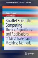 Parallel Scientific Computing
