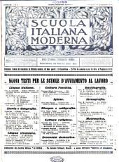 Scuola italiana moderna periodico settimanale di pedagogia  didattica e leteratura PDF