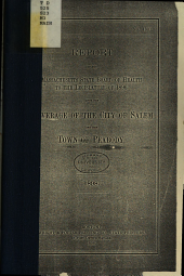 Report of the Massachusetts State Board of Health to the Legislature of 1896 Upon the Sewerage of the City of Salem and the Town of Peabody, 1898