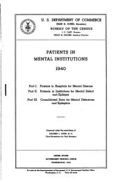 Patients in mental institutions