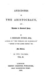 Anecdotes of the Aristocracy and Episodes in Ancestral Story, 2