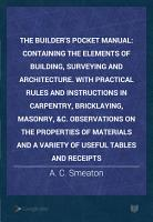 The Builder s Pocket Manual PDF
