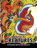 Mythical Creatures Coloring Books for Adults PDF