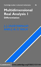 Multidimensional Real Analysis I: Differentiation