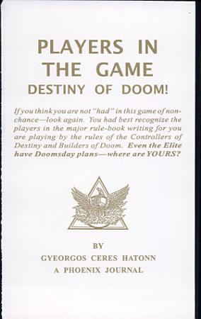 Players in the Game PDF