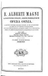 B. Alberti Magni Ratisbonensis episcopi, ordinis Prædicatorum, Opera omnia: ex editione lugdunensi religiose castigata, Volume 13