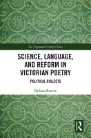 Science  Language  and Reform in Victorian Poetry PDF