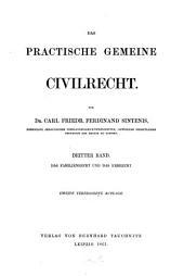 Das practische gemeine Civilrecht: ¬Das Familienrecht und das Erbrecht, Band 3