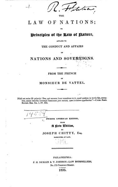 Download The Law of Nations Book