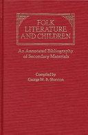 Folk Literature and Children