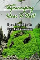 Aquascaping Ideas To Start PDF