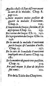 Traité de Mre Jean Fernel ... de la parfaite cure de la maladie vénérienne