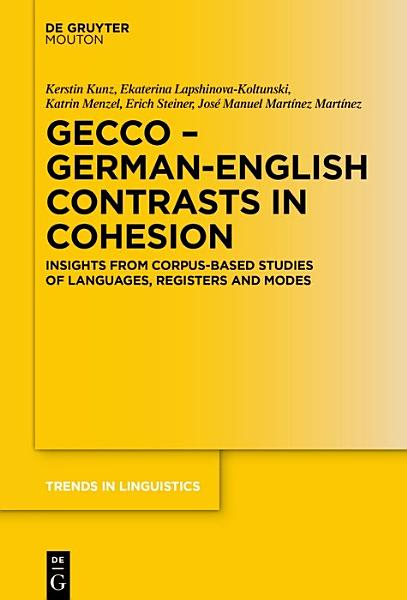 GECCo   German English Contrasts in Cohesion PDF