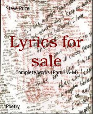 Lyrics for sale PDF