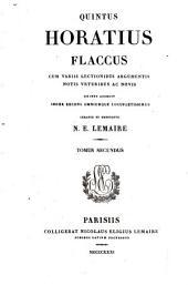 Quintus Horatius Flaccus: Volume 2