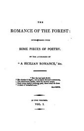 The romance of the forest, by the authoress of 'A Sicilian romance'.