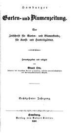 Neue allgemeine deutsche Garten- und Blumenzeitung: Band 16