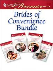 Brides of Convenience Bundle: The Lawyer's Contract Marriage\A Convenient Wife\The Italian's Virgin Bride\The Mediterranean Husband