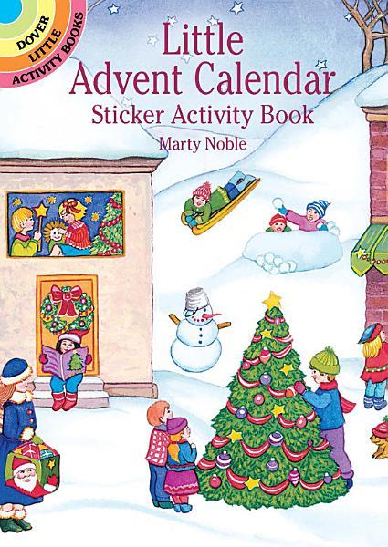 Download Little Advent Calendar Sticker Activity Book Book