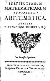 Institutionum mathematicarum ...