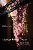 Mexican Poetry Today Book