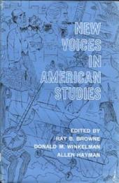 New Voices in American Studies