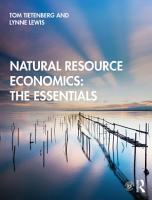 Natural Resource Economics  The Essentials PDF