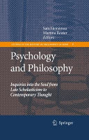 Psychology and Philosophy PDF