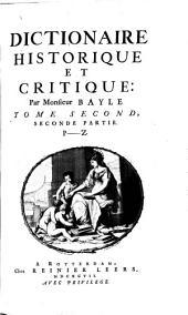 Dictionnaire historique et critique: Volume 4