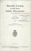 Monthly Catalog  United States Public Documents PDF