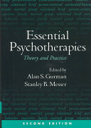 Essential Psychotherapies  Second Edition PDF