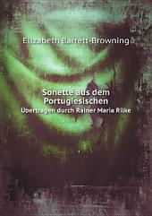 Sonette aus dem Portugiesischen