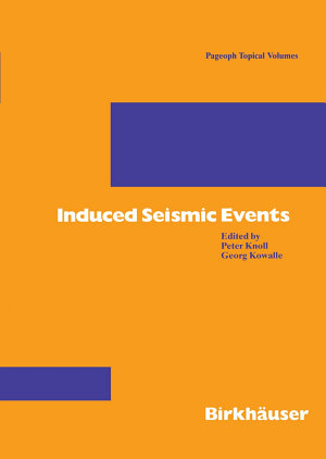 Induced Seismic Events
