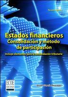 Estados financieros consolidaci  n y m  todos de participaci  n PDF