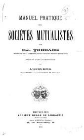 Manuel pratique des sociétés mutualistes