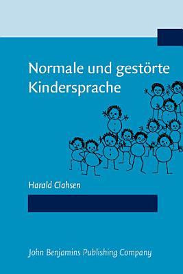Normale und gest  rte Kindersprache PDF