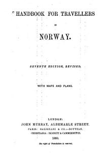Handbook for Travellers in Norway PDF