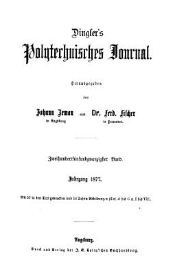 Dingler s polytechnisches Journal PDF
