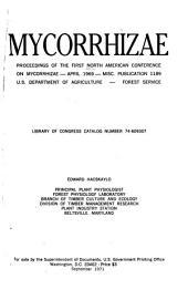 Mycorrhizae: proceedings, Volume 1