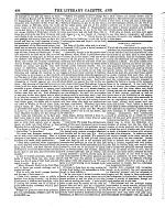 The Literary Gazette and Journal of the Belles Lettres, Arts, Sciences, &c