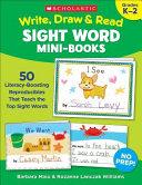 Write  Draw   Read Sight Word Mini Books