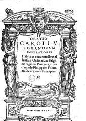 Oratio Caroli V, Romanorum imperatoris