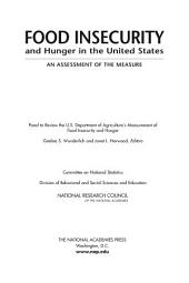 Food Insecurity and Hunger in the United States: An Assessment of the Measure