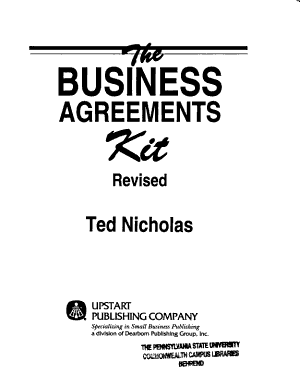 The Business Agreements Kit PDF