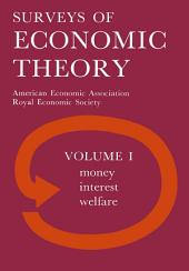 Royal Economic Society Surveys of Economic Theory