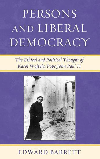 Persons and Liberal Democracy PDF