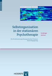 Selbstorganisation in der stationären Psychotherapie: Die Strukturierung therapeutischer Prozesse durch Begegnung