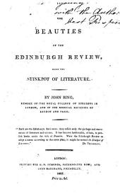 The beauties of the Edinburgh review, alias the Stinkpot of literature