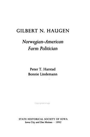Gilbert N  Haugen