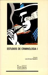 Estudios de criminología I